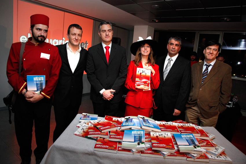 Fiesta de presentación de elAnuario.net 2010