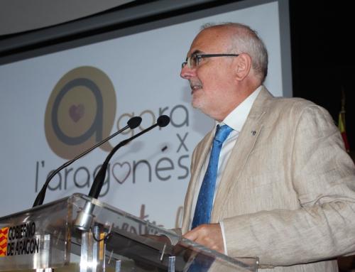El director general de Política Lingüística participa en la celebración del Día Europeo de las Lenguas con la presentación de una película en aragonés