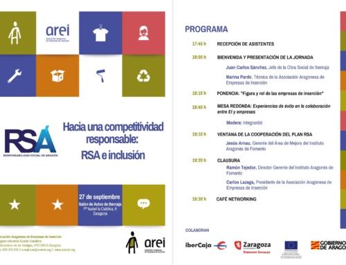 AREI organiza una jornada en busca de la complicidad del sector privado con las empresas de inserción