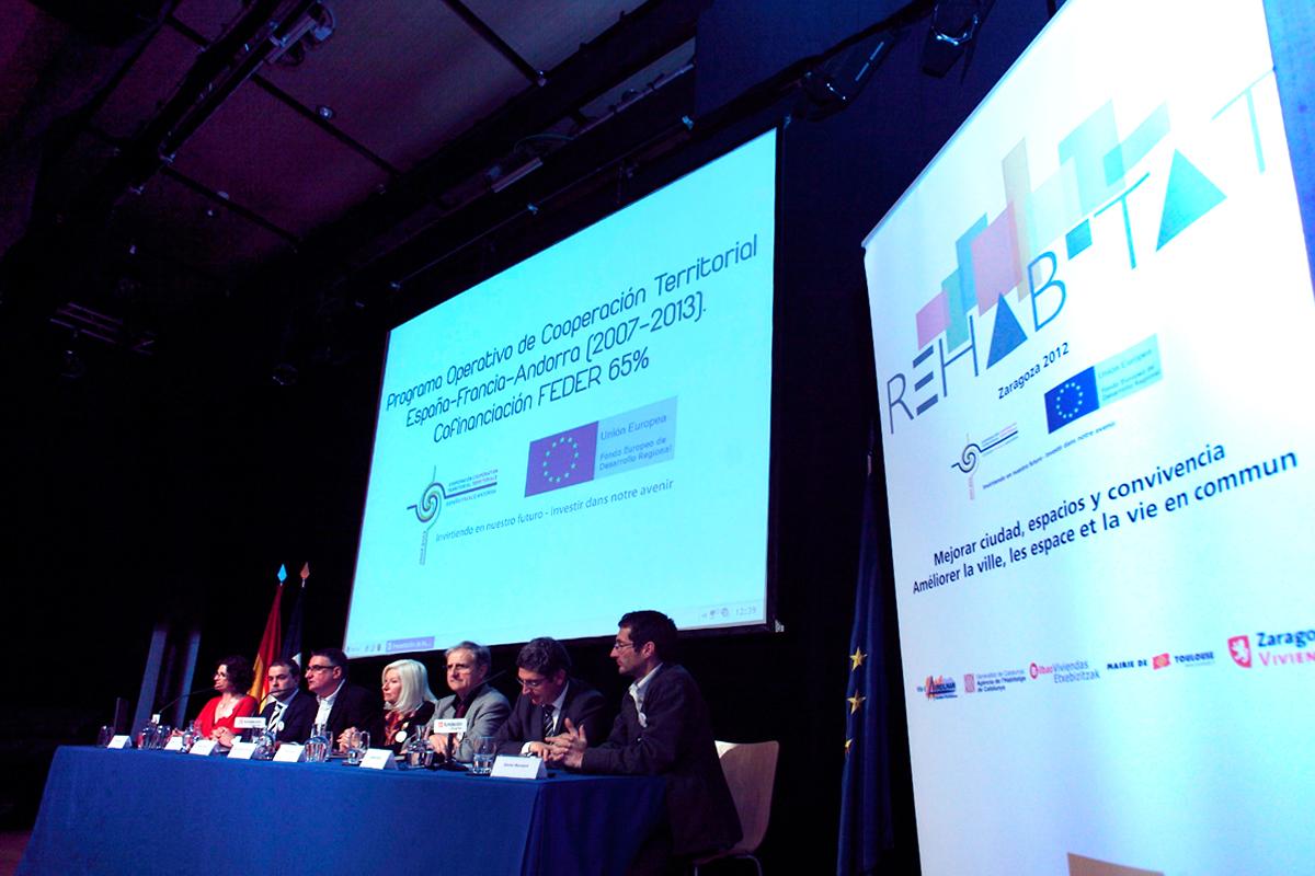 Seminario final del proyecto europeo Rehabitat
