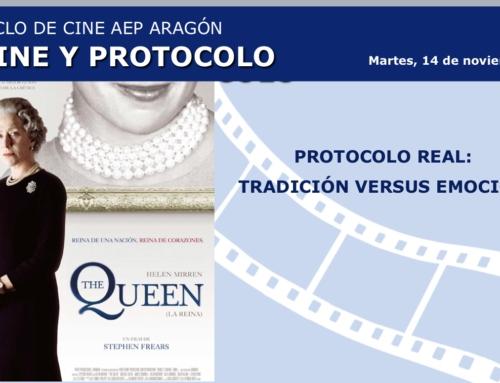 Celebración del ciclo de cine y protocolo en Zaragoza