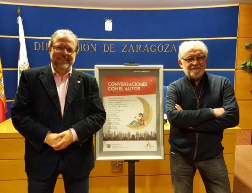 La DPZ pone en marcha la VI edición del ciclo 'Conversaciones con el autor', que este año llevará 8 escritores de nivel a 13 municipios