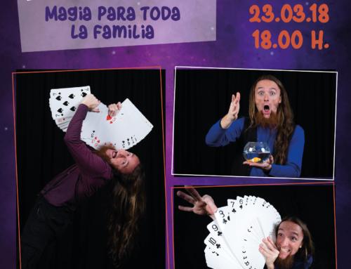 23 de marzo: magia para toda la familia en Los Porches del Audiorama