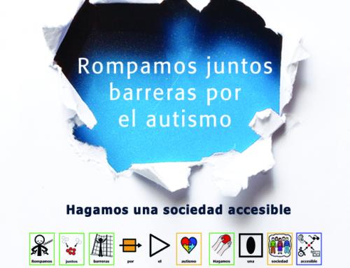 """Autismo Aragón inicia la campaña del Día Mundial bajo el lema """"Rompamos juntos barreras"""""""