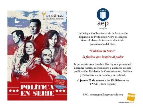 "Presentación del libro ""Política en serie"" en Fnac Plaza de España"