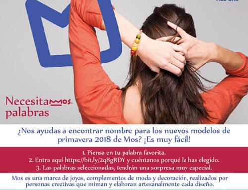 """""""NecesitaMOS palabras"""", una original campaña de la marca de joyería Mos para dar nombre a los nuevos modelos de la colección de primavera"""