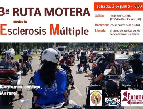 Mañana sábado, III Ruta Motera Solidaria por la Esclerosis Múltiple