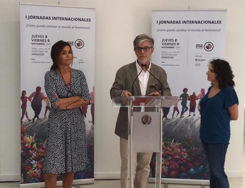Las I Jornadas Feministas de Zaragoza reúnen a medio centenar de investigadoras y activistas nacionales e internacionales