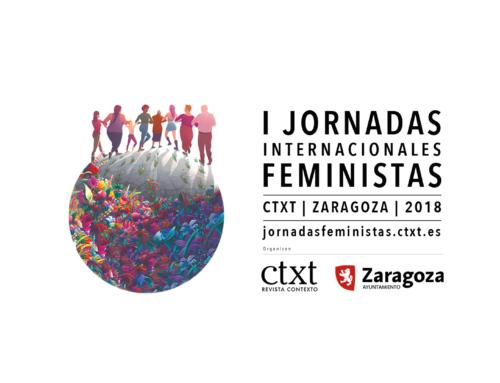 Soledad Murillo, Ada Colau, Pepa Bueno, Almudena Grandes, entre el medio centenar de ponentes de las I Jornadas Feministas de Zaragoza