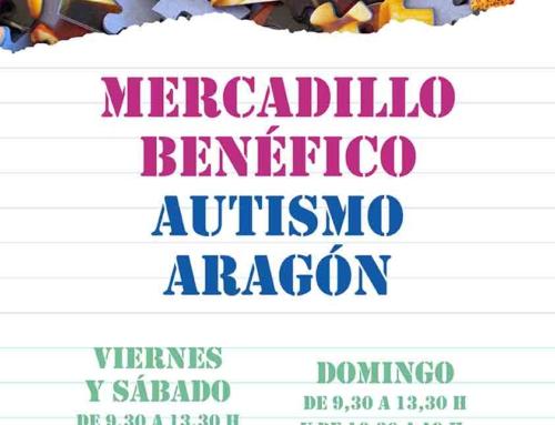 Vuelve, el próximo viernes, la cita anual con el Mercadillo benéfico de Autismo Aragón