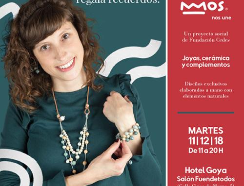 """""""La tienda de Mos"""" se instalará en el Hotel Goya el 11 de diciembre para llenar la Navidad de regalos para recordar."""