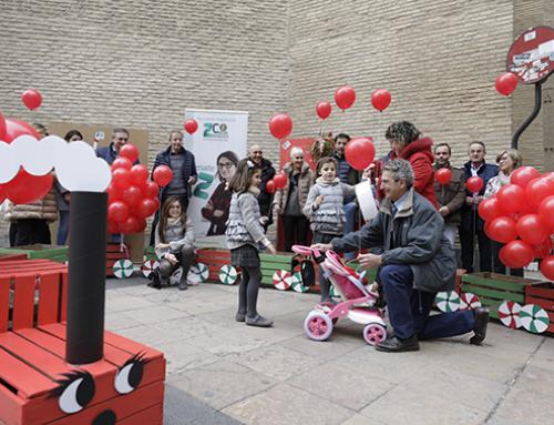 Este sábado, Zaragoza Centro lleva la solidaridad a la calle con su primera entrega de juguetes