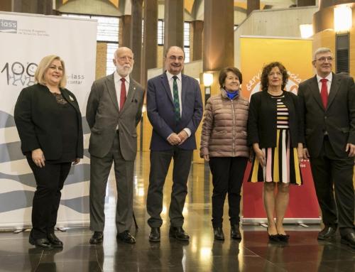 El pasado miércoles el Presidente de Aragón asistió a la entrega de los II Premios Cuarto Pilar del IASS