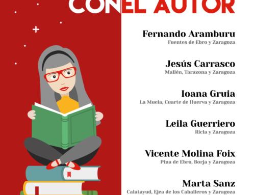 """La VII edición del ciclo """"Conversaciones con el autor"""" de la DPZ llevará siete escritores de prestigio a once municipios zaragozanos"""