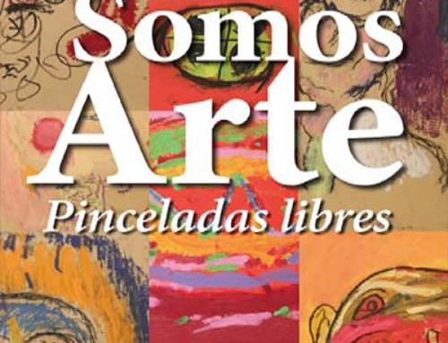 """Inauguración de la exposición """"Pinceladas libres. Somos arte"""" en el IAACC Pablo Serrano, resultado de un innovador proyecto impulsado por Fundación CEDES y la artista Cristina Huarte"""