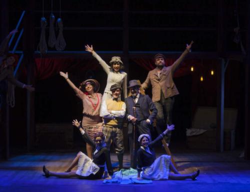 XXVI Festival de Teatro Lírico Español. 'El sobre verde' llega a Oviedo reinventada, con tintes de jazz y de comedia musical