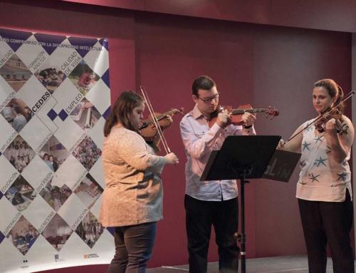 """Este domingo, nueva edición de los conciertos inclusivos de """"Música con violín"""" de Fundación CEDES"""