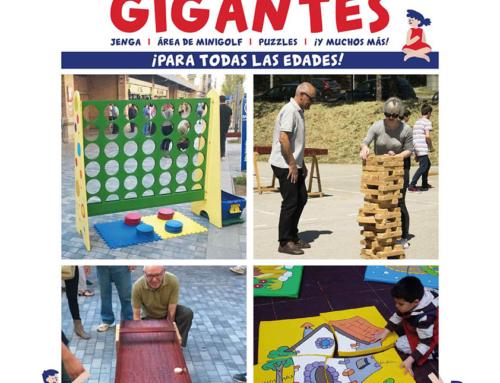 Juegos Gigantes del Mundo, un plan lleno de retos y habilidad, este sábado en Los Porches del Audiorama