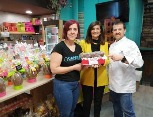 """Muestra en directo de elaboración artesana de """"monas de pascua"""", este sábado en Chocolates Capricho"""
