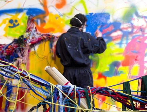 """""""El latido de mis huellas"""", una intervención colectiva que lleva al Centro de Historias el proceso creativo del programa """"Somos Arte"""" de Fundación CEDES"""