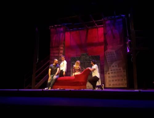 'El sobre verde' calienta la voz en el Teatro Principal para brillar en su estreno en Zaragoza