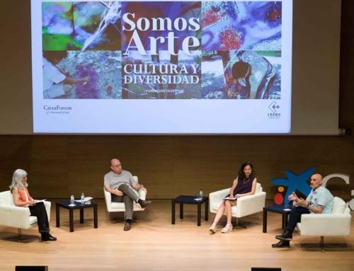 """Ángel Comeras: """"El ejemplo de Cedes se tiene que exportar para enseñar a la sociedad todo lo que se puede hacer desde la expresión artística"""""""