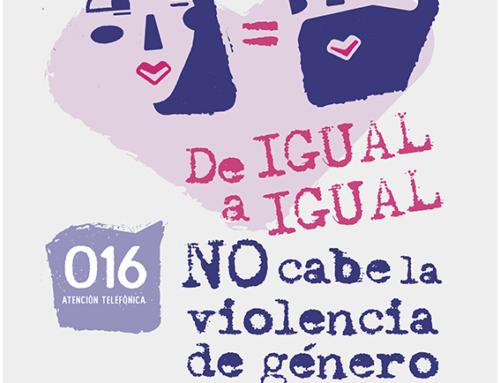 'DE IGUAL A IGUAL': Nueva campaña municipal para prevenir la violencia de género.
