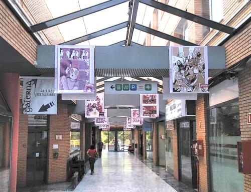 """""""10 años de viñetas con GP ediciones"""", una exposición que rinde tributo al cómic y al talento aragonés, en Los Porches del Audiorama"""
