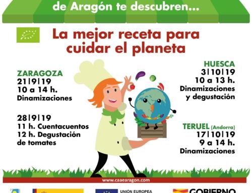 """La muestra agroecológica de Zaragoza invita este sábado a descubrir """"la mejor receta para cuidar el planeta"""""""