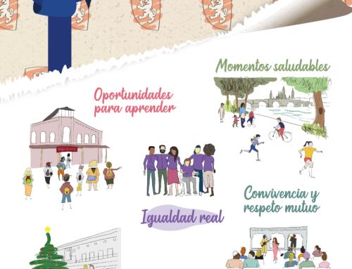 La nueva campaña #ZARAGOZASOCIAL invita a compartir la ciudad en igualdad, respeto y convivencia.