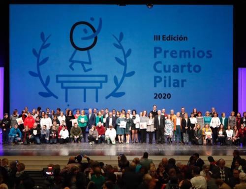Premios Cuarto Pilar: Una gala llena de valores y emociones para reconocer a usuarios, profesionales y entidades que hacen posible el sistema público aragonés de Servicios Sociales