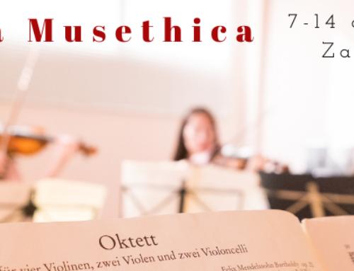Musethica lleva el sonido de violines, violas y violonchelos a 10 centros sociales, la Escuela de Música y Danza y el Auditorio de Zaragoza esta semana