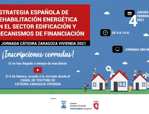 Zaragoza presentará mañana en una jornada las claves de la oleada de rehabilitación energética del parque edificado que va a llegar a España y Aragón en los próximos 3 años