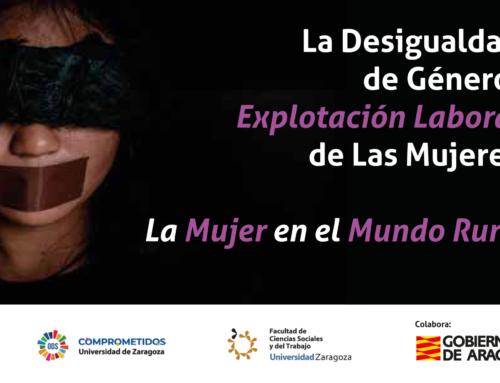 Hoy miércoles, 16:30hs: Webinar sobre explotación laboral de la mujer extranjera, el papel de España en la trata, empoderamiento en el medio rural y consumo responsable