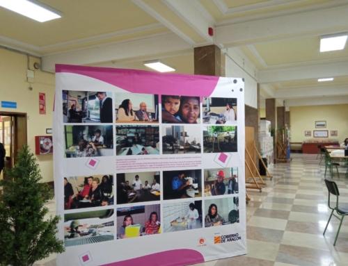 """La exposición """"Transformando Miradas, construyendo Igualdad"""" llega hoy al Espacio Rosa Luxemburgo de Huesca, donde permanecerá hasta el 16 de abril"""