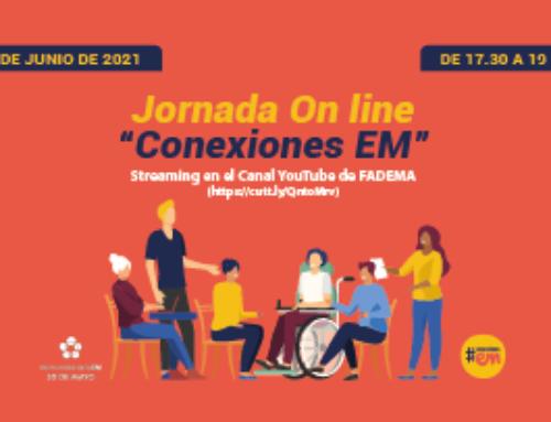 """Jornada Online """"Conexiones EM"""" organizada por la Fundación Aragonesa de Esclerosis Múltiple"""